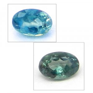 Natural Color Change Alexandrite 4x3mm Oval Cut 0.2 Cts