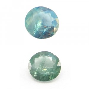 Natural Color Change Alexandrite 5mm Round Cut 0.4 Cts