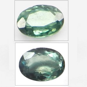 Natural Color Change Alexandrite 5x3mm  Oval Cut 0.3 Cts