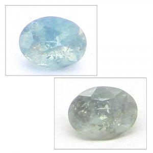 Natural Color Change Alexandrite 5x3mm Oval Cut  0.25 Cts