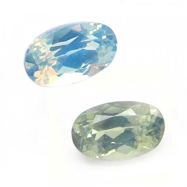 Natural Color Change Alexandrite 5x3mm Oval Cut  0.4 Cts