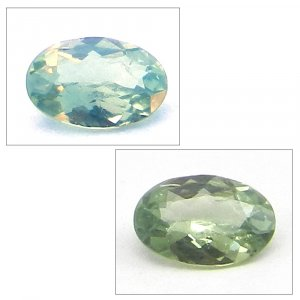 Natural Color Change Alexandrite 5x4mm Oval Cut 0.2 Cts