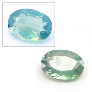 Natural Color Change Alexandrite 5x4mm Oval Cut 0.3 cts
