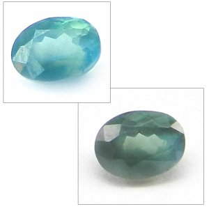 Natural Color Change Alexandrite 5x4mm Oval Cut 0.4 Cts