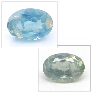 Natural Color Change Alexandrite 5x4mm Oval Cut 0.5 cts
