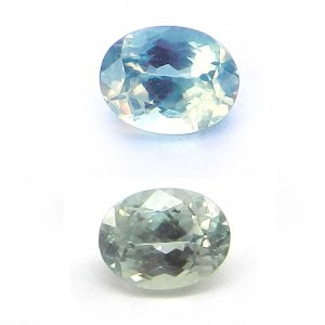 Natural Color Change Alexandrite 5x4mm Oval Cut 0.7 Cts