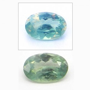 Natural Color Change Alexandrite 6x3mm Oval Cut 0.4 Cts