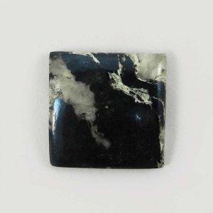 Natural Covellite Jasper 22x22mm Square Cabochon 25.9 Cts