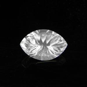 Natural Crystal Quartz 10x15mm Marquise Concave Cut 5.15 Cts