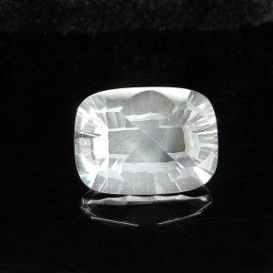 Natural Crystal Quartz 12x16mm Octagon Concave Cut 10.50 Cts