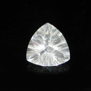 Natural Crystal Quartz 13x13mm Trillian Concave Cut 5.90 Cts