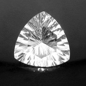 Natural Crystal Quartz 19mm Trillian Concave Cut 16.65 Cts
