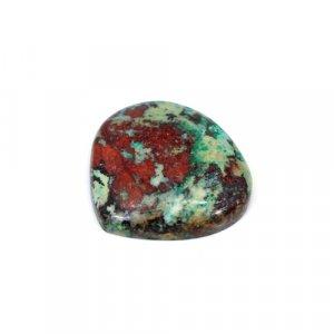 Natural Cuprite Chrysocolla Heart Cabochon 24x23mm 29.60 Cts Loose Gemstone