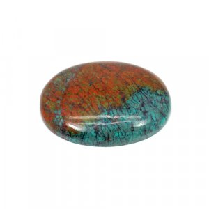 Natural Cuprite Chrysocolla Oval Cabochon 29x22mm 38.65 Cts Loose Gemstone