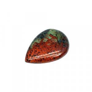 Natural Cuprite Chrysocolla Pear Cabochon 30x21mm 30.70 Cts Loose Gemstone