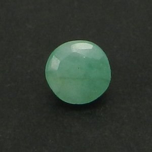 Natural Emerald 4mm Round Cut 0.2 Cts