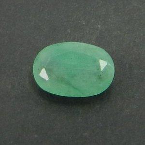 Natural Emerald 6x4mm Oval Cut 0.5 Cts