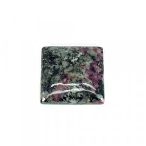 Natural Eudialyte Gemstone Square Cabochon 25mm 38.25 Cts