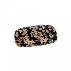 Natural Fireworks Obsidian Cushion Cabochon 38x23mm 40.3 Cts Loose Gemstone