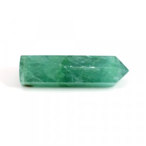 Natural Fluorite Gemstone Pencil  Shape Faceted 167.50 Cts 60x15mm