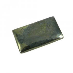 Natural Galena Marcasite 22x12mm Rectangle Cabochon 17.0 Cts