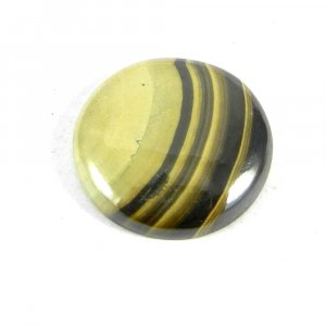 Natural Galena Marcasite 23mm Round Cabochon 35.0 Cts