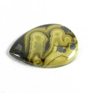 Natural Galena Marcasite 26x20mm Pear Cabochon 25.25 Cts