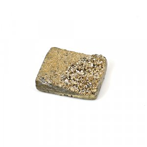 Natural Golden Druzy 11.40 Cts Rectangle 17x14mm Loose Gemstone