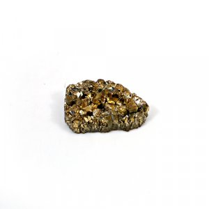 Natural Golden Druzy 11.70 Cts Pear 20x13mm Loose Gemstone