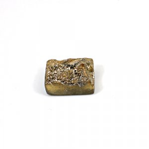 Natural Golden Druzy 21.55 Cts Rectangle 18x14mm Loose Gemstone