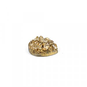 Natural Golden Druzy 5.60 Cts Pear 14x9mm Loose Gemstone