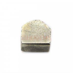 Natural Golden Pyrite 11x11mm Freeform Rough 10.75 Cts