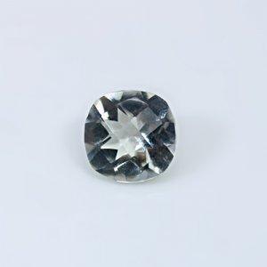 Natural Green Amethyst  3.40 Cts Cushion Checker Cut 10mm Loose Gemstone
