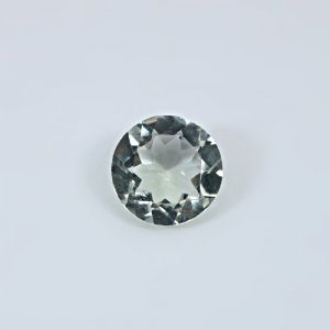 Natural Green Amethyst  4.75 Cts Round Cut 12mm Loose Gemstone