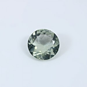 Natural Green Amethyst  6 Cts Round Cut 13mm Loose Gemstone