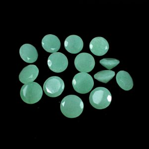 Natural Green Aventurine Gemstone Round Faceted 2.75 Cts 10mm Loose Gemstone