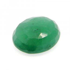 Natural Green Emerald 14x11mm Oval Cut 7.1 Cts
