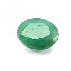 Natural Green Emerald 5x4mm Oval Cut 0.4 Cts