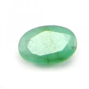 Natural Green Emerald 6x4mm Oval Cut 0.45 Cts