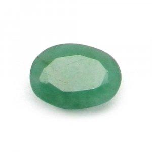 Natural Green Emerald 6x8mm Oval Cut 1.10 Cts
