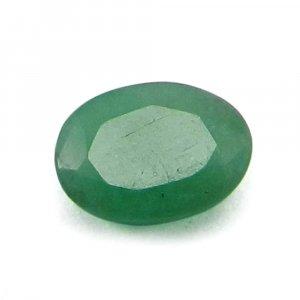 Natural Green Emerald 7x5mm Oval Cut 0.95 Cts