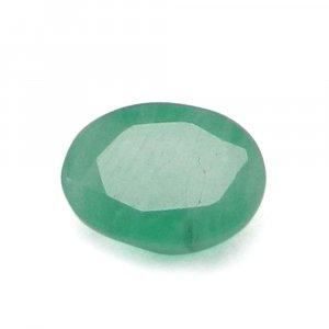 Natural Green Emerald 7x5mm Oval Cut 1 Cts