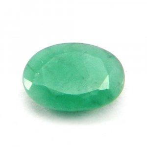 Natural Green Emerald 8x6mm Oval Cut 1.1 Cts
