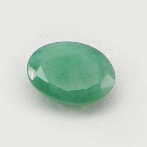 Natural Green Emerald 8x6mm Oval Cut 1.3 Cts