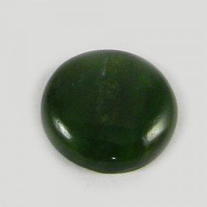Natural Green Escora 16mm Round Cabochon 7.5 Cts