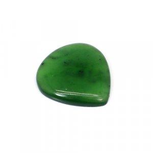 Natural Green Escora Heart Cabochon 19.40 Cts 24x23mm Loose Gemstone