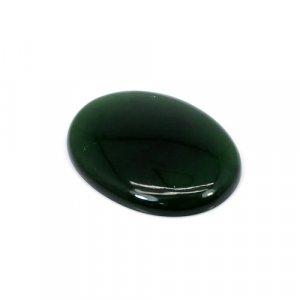 Natural Green Escora Oval Cabochon 27.60 Cts 30x22mm Loose Gemstone