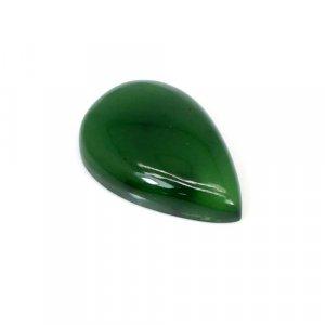 Natural Green Escora 25x17mm Pear Cabochon 20.30 Cts