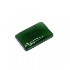 Natural Green Escora Rectangle Cabochon 16.45 Cts 21x13mm Loose Gemstone