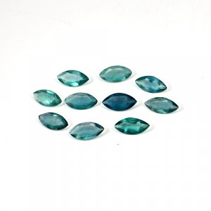 Natural Green Fluorite 12x6mm Marquise Cut 20 Cts 10 Pcs Lot Loose Gemstone